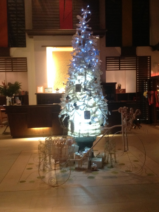 Christmas Tree at Au Prau resort
