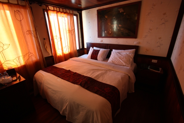 Bedroom on South China Sea Junk