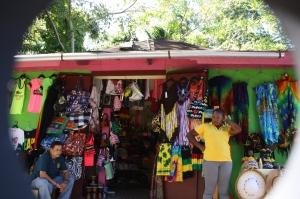 Jamaican Market stall